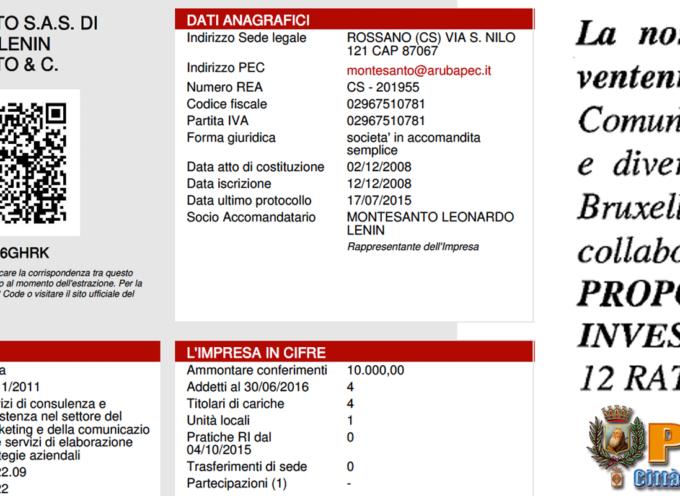 Paola – Liquidate le spettanze alla ditta per la comunicazione (10.248 euro)