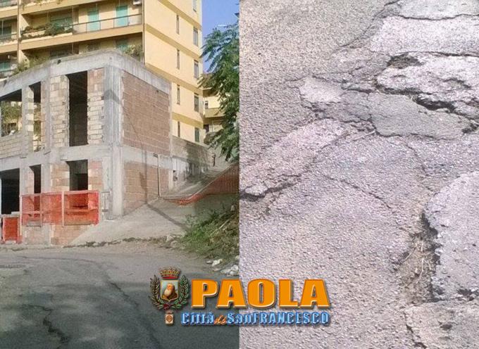 """Paola – Intorno all'Asilo c'è una """"selva selvaggia"""" che """"rinnova la paura"""""""