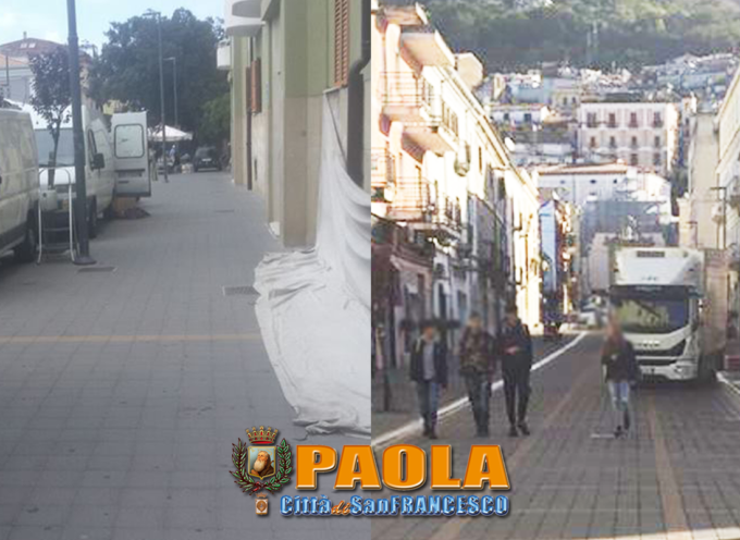 """Paola #nonsolomercato: l'isola pedonale di Corso Roma è preda dei """"pirati"""""""