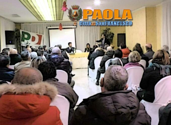 Paola: Il Pd non avanza diritti di prelazione per il candidato a sindaco. Video