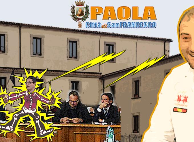 Paola – «Forse il sindaco, a forza di risparmiare il fiato, si è stancato» (M.F.)