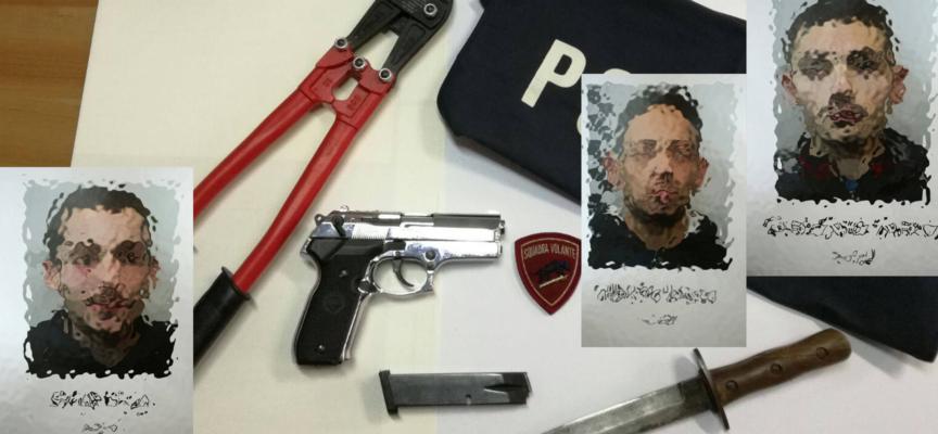 """Tronchesi, pistole e coltellacci, """"Predator"""" sgomina banda dedita a furti"""