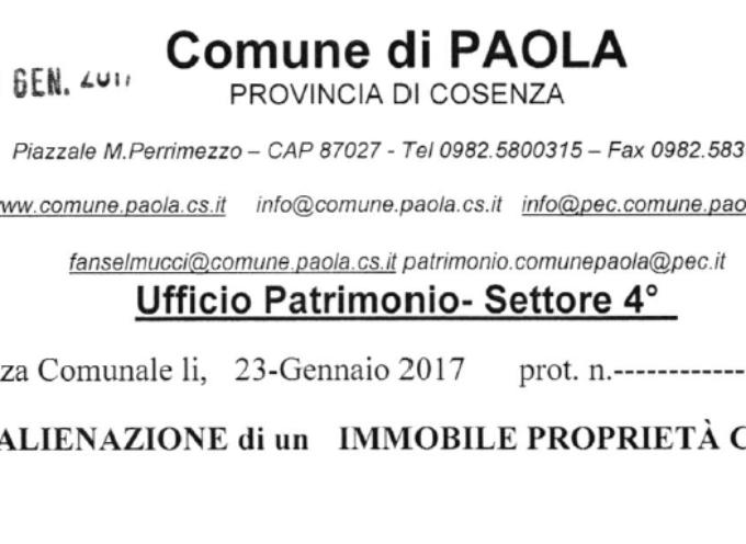 """Paola – Il valore di vendita della scuola """"Casalinelle"""" è crollato del 36%"""