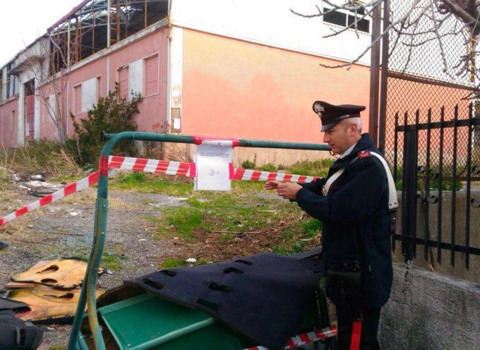 Paola: I Carabinieri della locale Compagnia sequestrano discarica abusiva