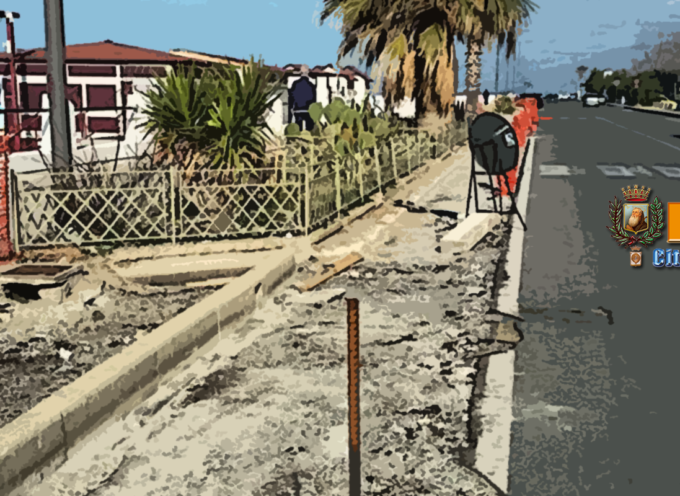 Paola – Tondini fieri al vento e strisce pedonali asimmetriche: critiche al waterfront