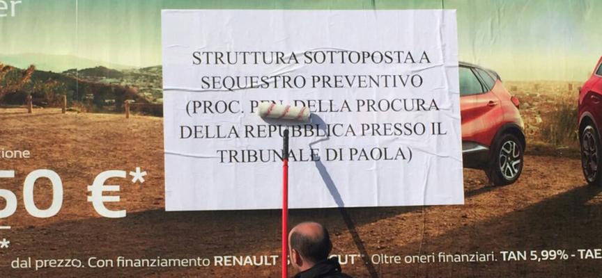 """Paola – I Carabinieri della Compagnia indagano """"la Pubblicità"""" nei comuni"""