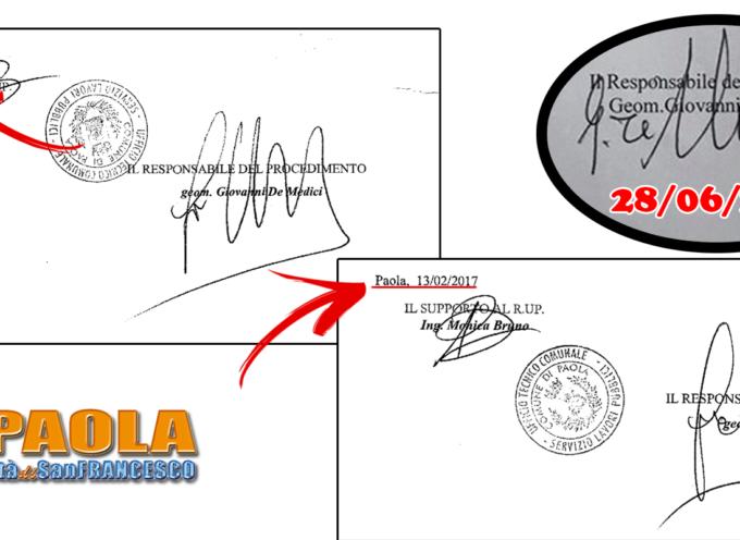 Paola – Fitto mistero sull'atto per Largo 7 Canali (valore: quasi 600mila€)