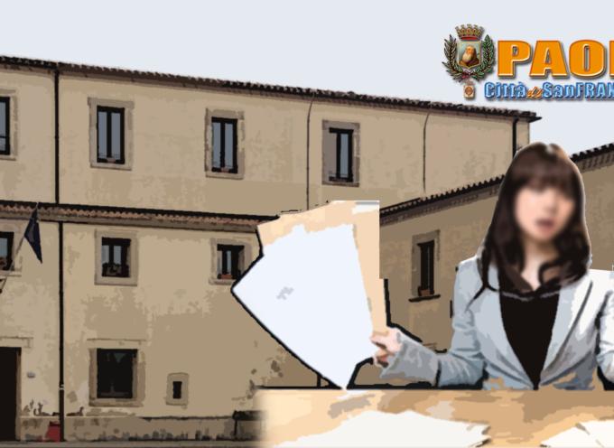 """Paola – Assunzione """"decretata"""", contratto modificato. Opposizione all'Anac"""