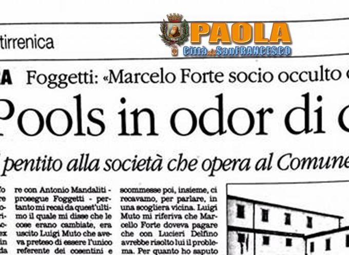Paola – Laopools: «Ferrari sapeva tutto già prima dell'interdittiva antimafia»