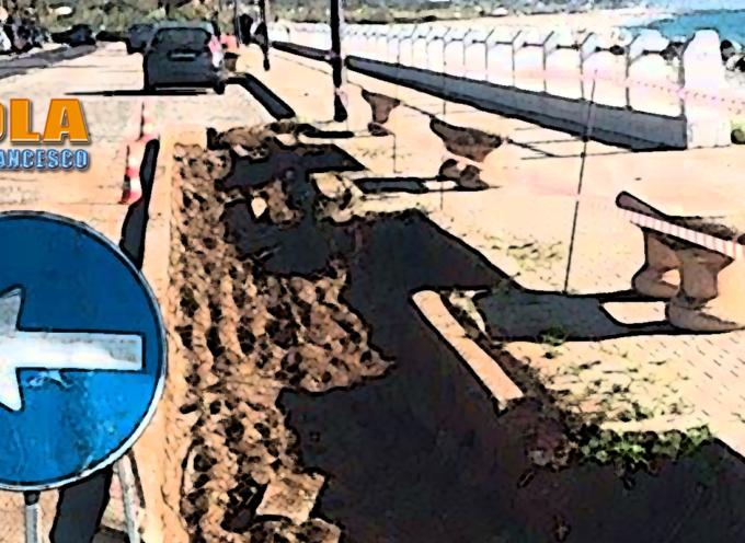 Paola – Il cantiere per il waterfront solleva dubbi riguardo la sicurezza