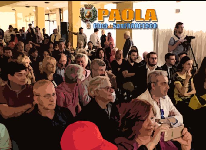Paola – Orlandino Greco sovrintende la presentazione della lista IDM