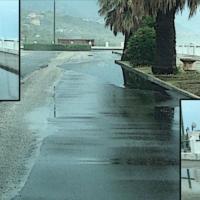 """Paola – Alla prima pioggia intensa il waterfront """"si allaga"""" in più settori – foto"""