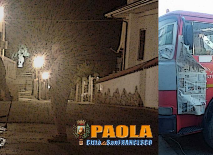 Paola – Partita la battaglia contro le blatte e ripristinati i mezzi comunali