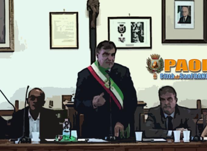 Paola – Alcuni probabili punti del prossimo Consiglio Comunale (il 28/09?)