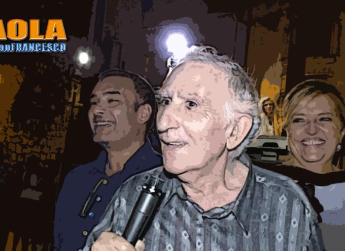 Paola – Attilio Romano, 82enne con un giovane Canzoniere da condividere
