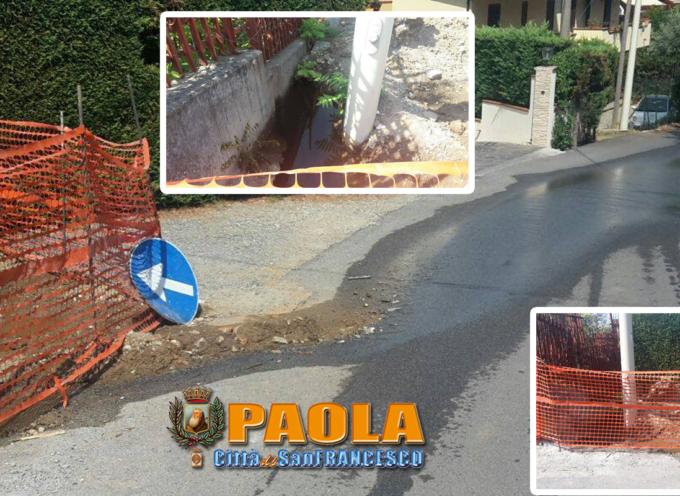 """Paola – Mentre l'acqua manca nelle case, in alcune zone """"si disperde"""""""