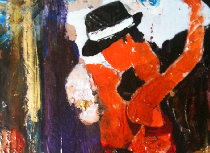 Fiumefreddo – Street art Tango, successo del maestro Salvador Gaudenti
