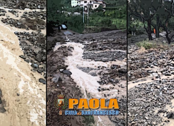 Paola – Primi danni per le piogge: ordinanza d'intervento urgente – VIDEO