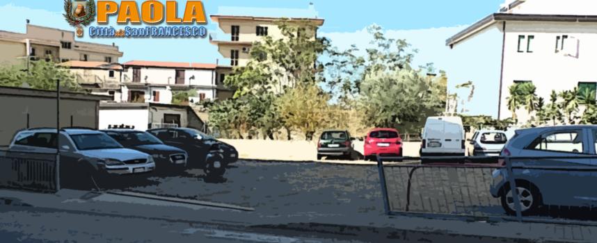 Paola – Primo intervento sulla viabilità a Via Nazionale: riaperto parcheggio