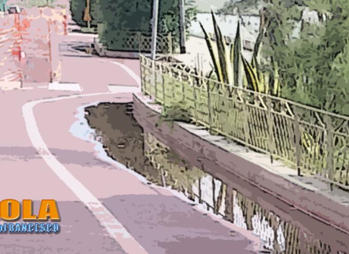 Paola: Basta un pò di pioggia e waterfront va giù (sott'acqua). WaterAffond