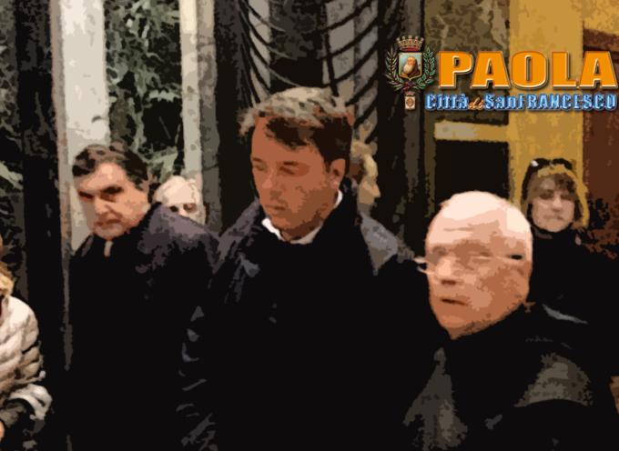 Paola – L'ex Premier Matteo Renzi visita città e Santuario – VIDEO