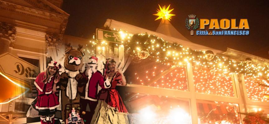 Paola – Il Natale cittadino è già tutto un programma