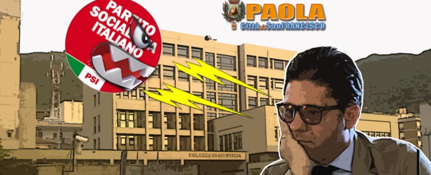 """Paola – Psi """"irride"""" allarmismo Ferrari e lo """"fulmina"""" sulla via del Tribunale"""