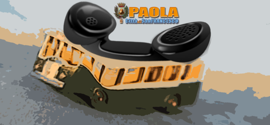 """Paola – Atto d'indirizzo per il """"Bus a Chiamata"""": esperimento taxi collettivo?"""