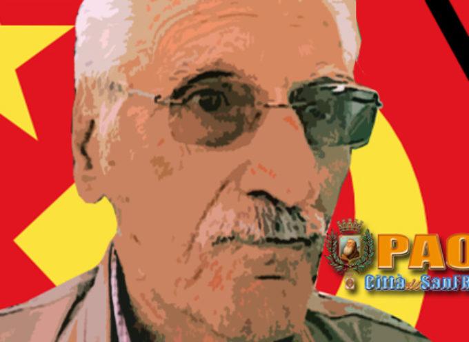 Paola – La città piange Franco Cortese, inossidabile difensore del popolo