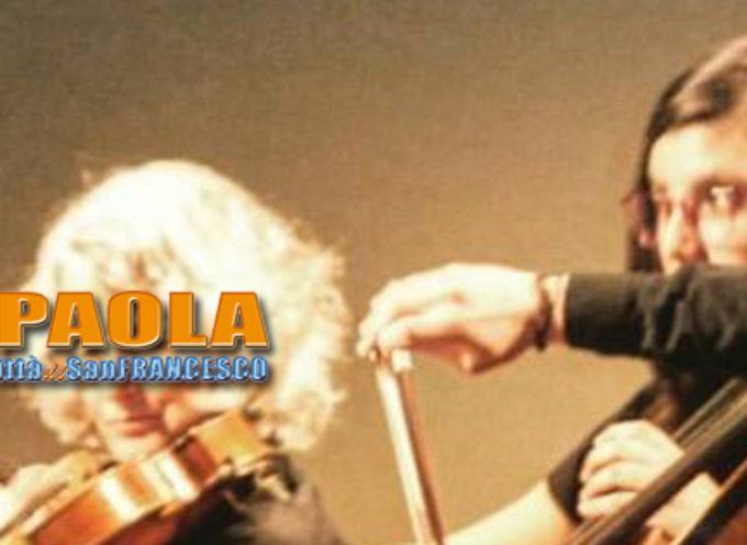 Paola – Il 1°Violoncello Rosa Ferrigno, domani suonerà nell'aula del Senato