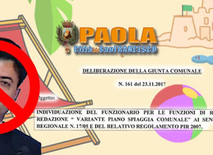 Paola – Revocato l'incarico di Rup per il Piano Spiaggia, silurato Pavone