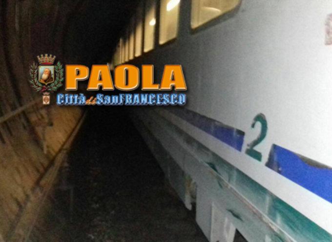 Paola – Il Tunnel ferroviario per Cosenza chiuderà dall'8 Aprile