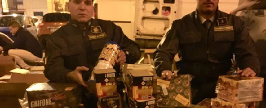 Quasi 700kg di botti illegali: GdF arresta una persona e sequestra la merce