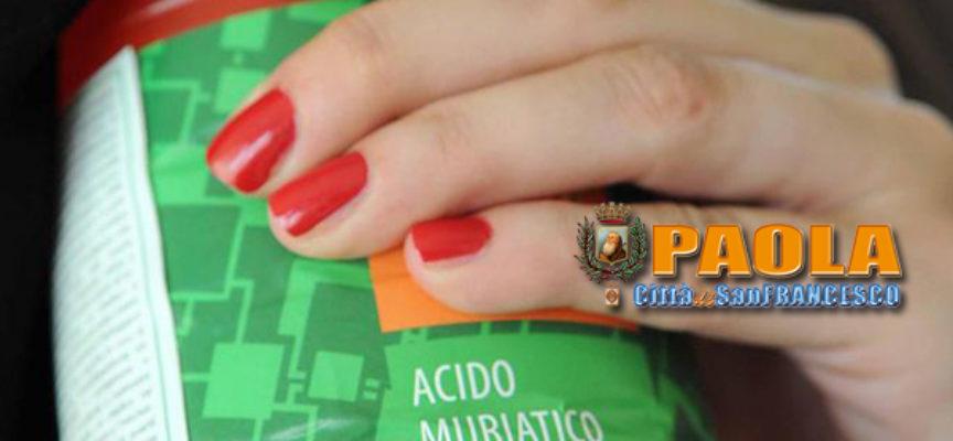 Paola – Beve acido muriatico da una bottiglia, uomo in gravi condizioni
