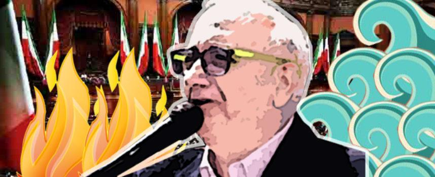 """Cosmo De Matteis e il """"regime"""" che s'avvia a rinnovarsi: «S'ì fosse foco…»"""