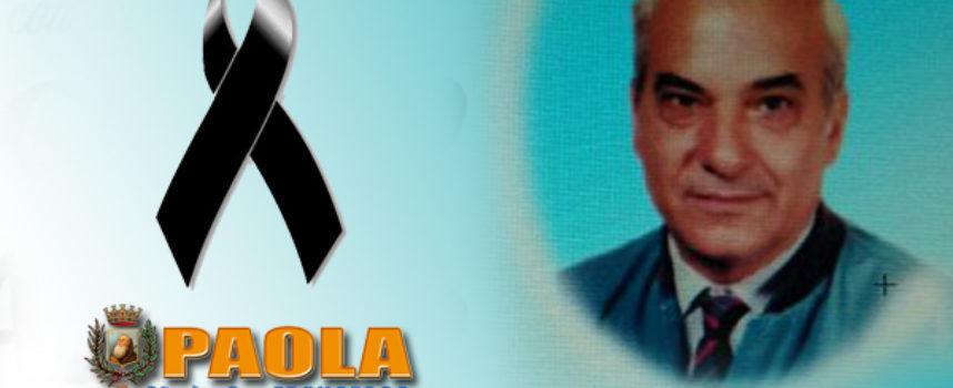 Paola – La città perde Francesco D'Angiò, politico serio e persona perbene