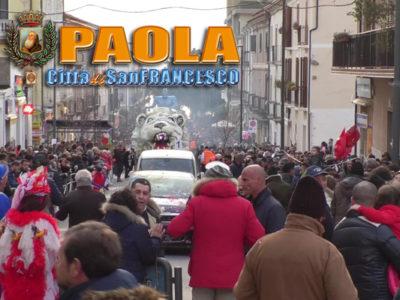 Paola – VIDEO del Carnevale Paolano 2018 (con interviste) – Sfilata Carri
