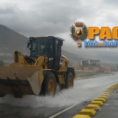 Paola – VIDEO: 300mila€ sotto al mare, WATERFRONT impraticabile
