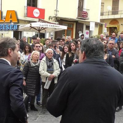 """Paola – VIDEO – In Piazza per il Popolo """"viaggiante"""" – INTERVISTE"""