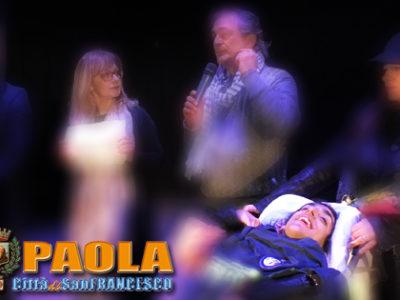 Paola – Premiata alla festa della Donna, la combattente Sara Veltri ringrazia