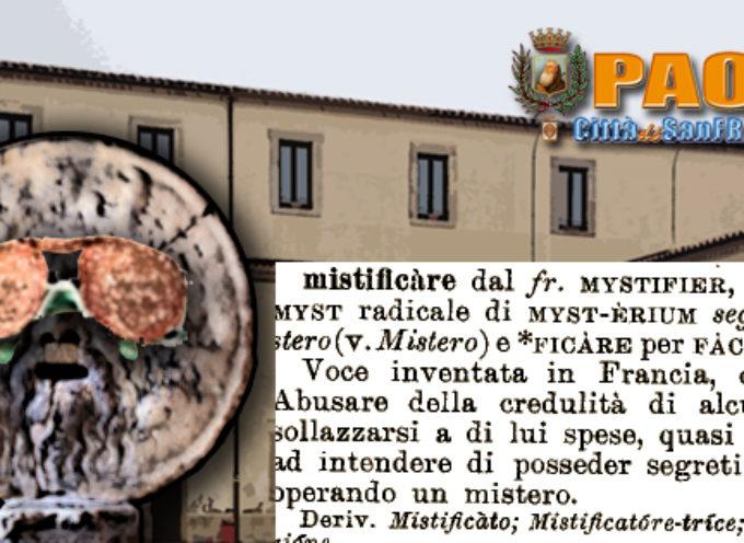 Paola – Il ricorso di Ferrari contro l'elezione di Perrotta è viziato da falsità?