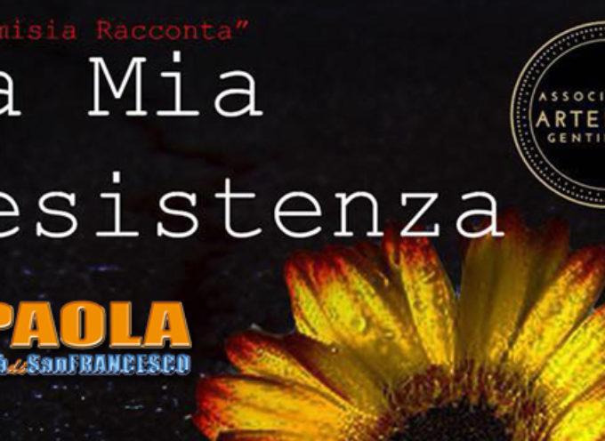 Paola: Esempio di Resistenza, scampata a femminicidio ospite di Artemisia