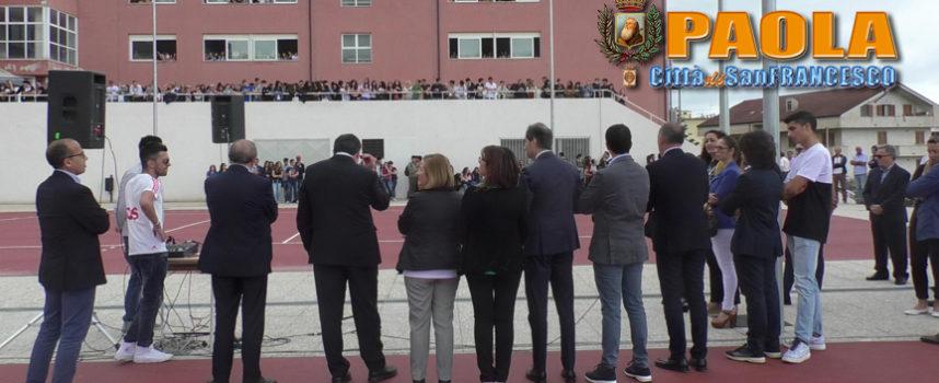 Paola – VIDEO – Nuove strutture sportive al Liceo che non dimentica