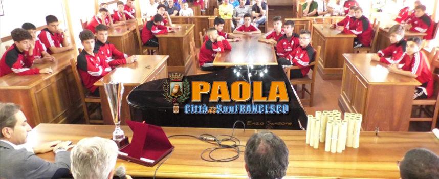Paola – VIDEO – «Ce la siamo conquistata». Merito alla Xerox Chianello
