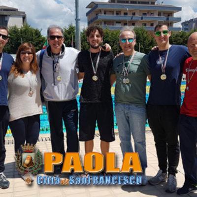 """Paola – Gli atleti del Gabbiano impressionano al Meeting """"Città di Cosenza"""""""