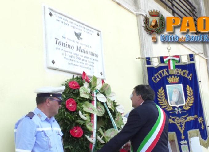 Paola – VIDEO – Oggi è l'anniversario della morte Innocente di Tonino Maiorano