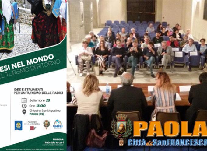 """Paola – Accorgimenti per """"ridisegnare"""" strategie turistiche presenti e future"""