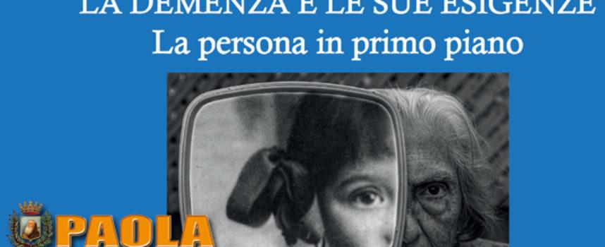 Paola – Domani (21.09.2018) importante incontro per parlare di Alzheimer
