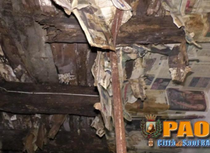 Paola |Video| Disumana condizione per Francesco, domiciliato nel degrado