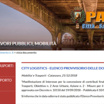 Paola – Istanza per potenziamento infrastrutturale non passa alla Regione